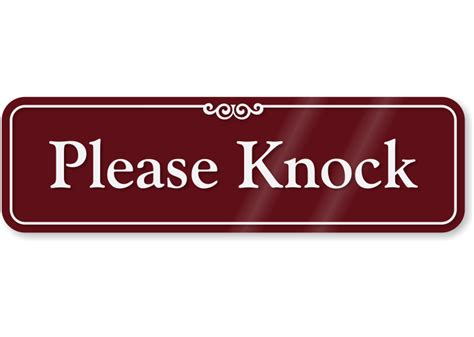 Door Sign Generator by Pin Knock Or Dont Come In Keep Calm And Carry On