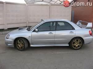 Subaru Wrx 2003 2003 Subaru Impreza Wrx Sti For Sale