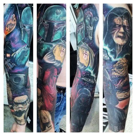 smokin guns tattoo wars sleeve created by sonny baltin smokin guns