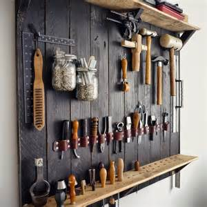 kingsley leather how s it hanging my new tool rack