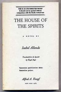 the house of the spirits book the house of the spirits by isabel allende first edition