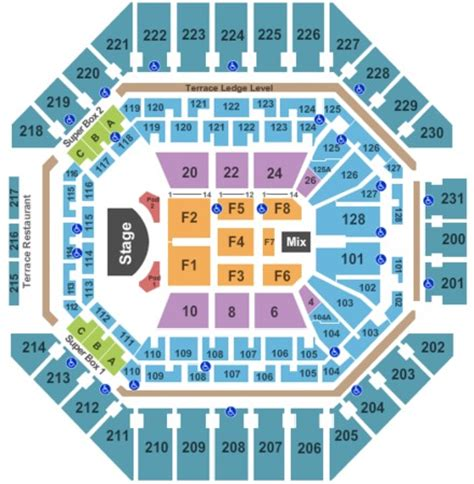 att center seating map at t center tickets in san antonio at t center