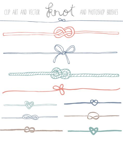 Wedding Knot Clipart by Knot Clip Nautical Clip Knot Vector By
