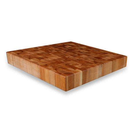 end grain island top