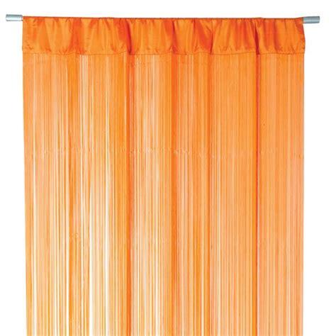 vorhänge orange fadenvorhang t 252 rvorhang fadengardine 100x250cm waterfall