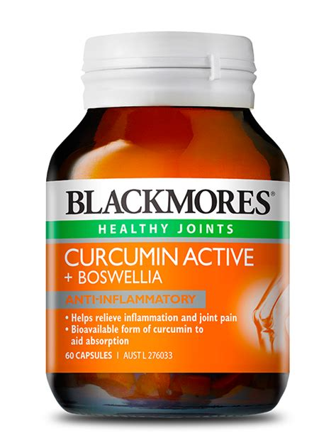 Blackmores Brain Active 30 Caps blackmores curcumin active boswellia blackmores