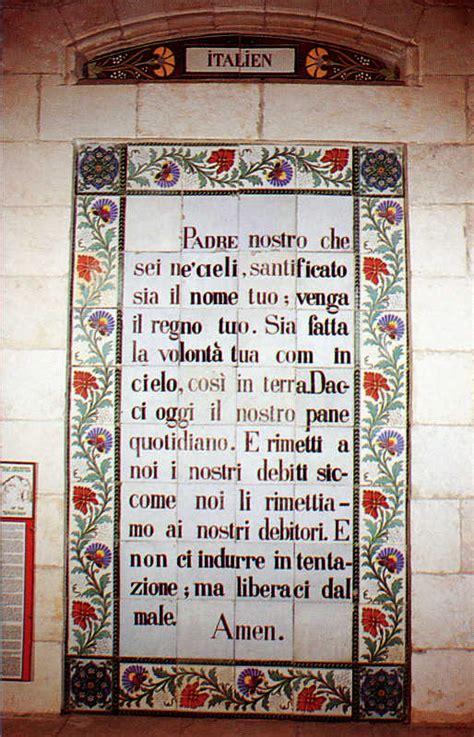 padre nostro in aramaico testo per favore cari vescovi non cedete alla tentazione di
