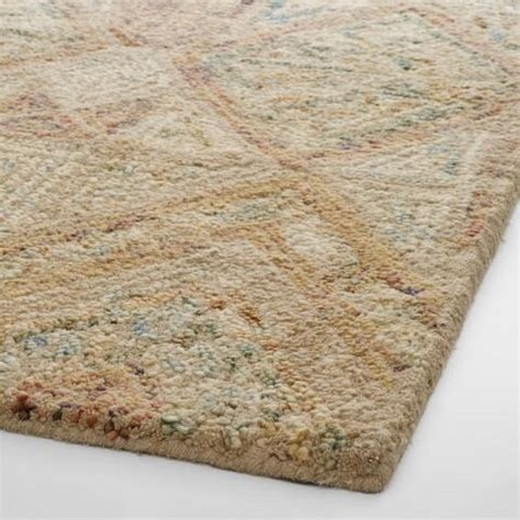 Light Brown Rug by Light Brown Tufted Wool Maris Area Rug World Market