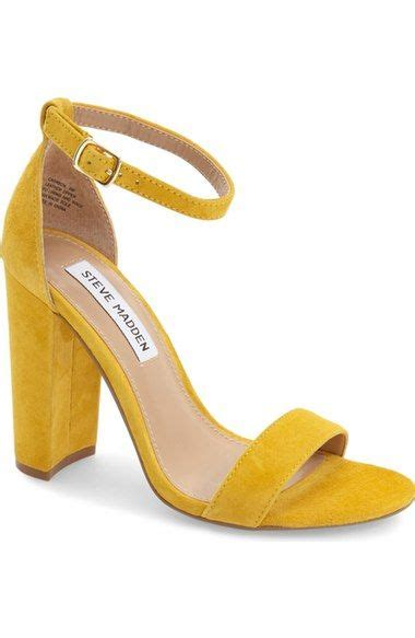 steve madden carrson sandal available at nordstrom wedding chunky heel shoes