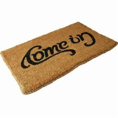 Doormat Uk doormat come in go away quot ambigram quot