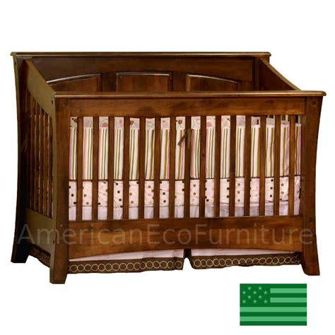 Cambria Panel Convertible Baby Crib Made In Usa Solid Usa Made Baby Cribs