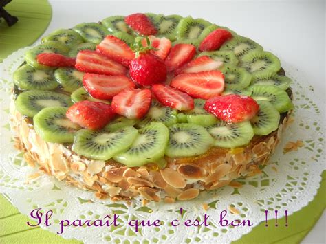Decoration Genoise Aux Fruits by Decoration Gateau Avec Fruits