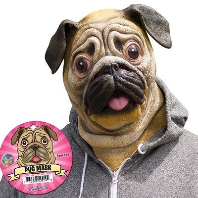 are pugs retarded stupid the pug mask