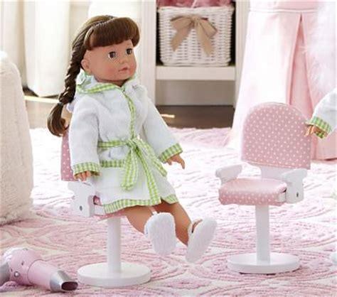 Doll Hair Salon Chair by Doll Salon Chair Pottery Barn