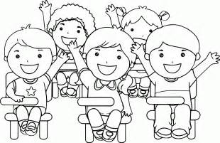 childrens coloring pages child at school coloring page az coloring pages