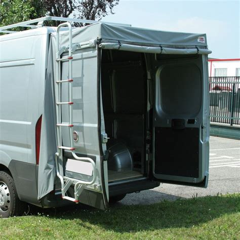 diy 4x4 awning fiamma van rear door cover awning fiat ducato citroen