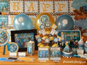 Alice In Wonderland Printable Party Decorations | alice in wonderland party supplies diy printable