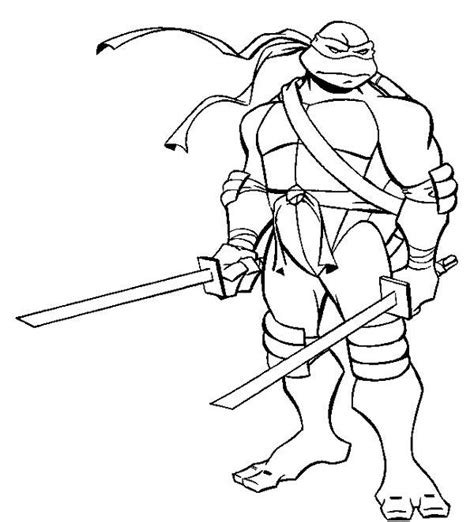 Free Turtles Ninja Coloring Pages Tmnt Colouring Pages