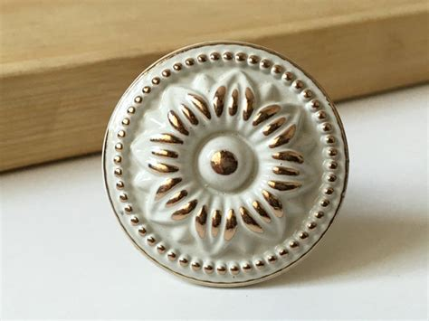 white dresser knob drawer knobs pulls handles shabby chic