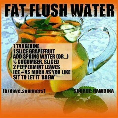 Dr Oz Detox Water With by Flush Water Favorite Things