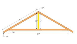 shed roof trusses plans