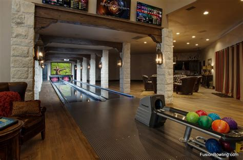 Bowling Alleys   Homes of the Rich