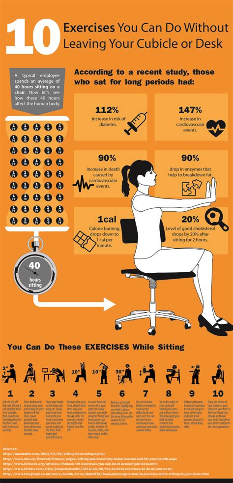 Exercises To Do At The Desk by 25 Best Ideas About Office Workouts On