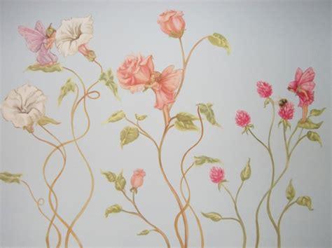 Little Girls Bedroom Paint Ideas flower fairies