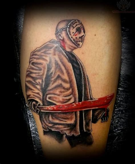 tattoo jason 254 best images about friday the 13th tattoos on pinterest