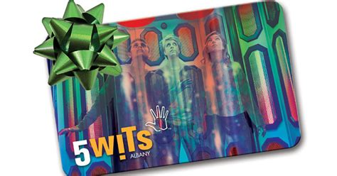 5 Wits Gift Card - top local 2017 gifts for saratoga the capital region