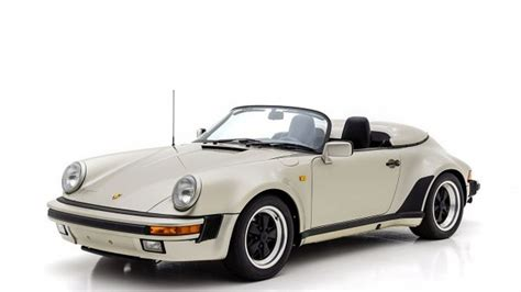 Porsche 911 Import by 1989 Speedster With Only 000042 Km For Sale