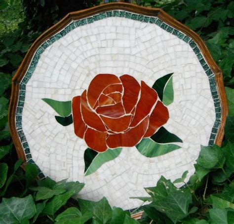 rose pattern for mosaic 73 best images about mosaic roses on pinterest pink