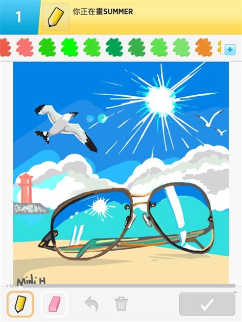 Drawing 4 Summer summer drawings how to draw summer in draw something
