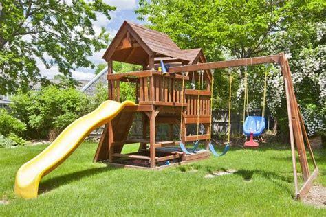 backyard swing sets   family living today