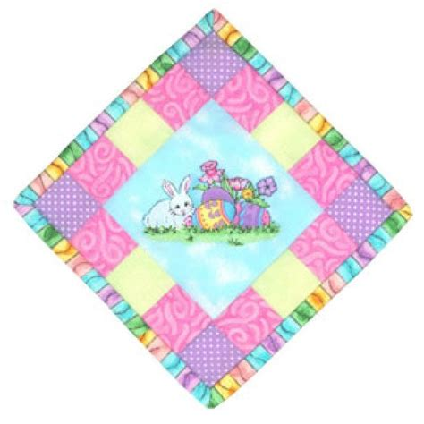 Mini Quilt Kits by Weekend Kits Easy Easter Crafts Mini Quilt Kits