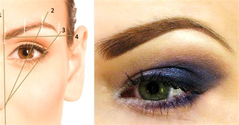 Home Decor Halloween here s the perfect guide to diy eyebrow shaping cute