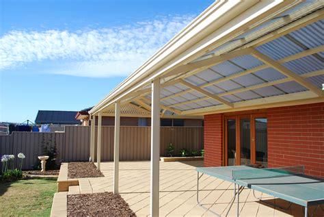 polycarbonate roofing colorbond steel frame colorbond