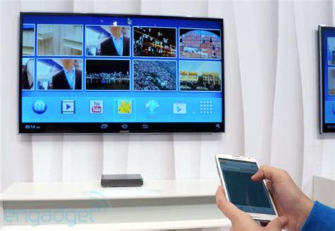 Tv Samsung Android samsung homesync android tv box on