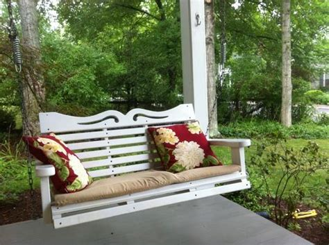 swing on front porches front porch swing picture of lexington virginia
