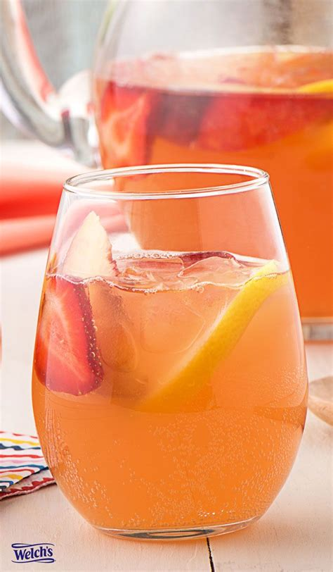 summer cocktail recipes 23 best welch s sparkling drinks images on pinterest