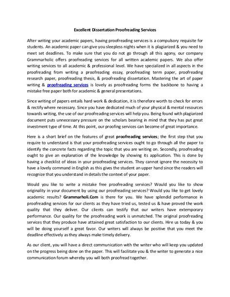excellent dissertations excellent dissertation proofreading services