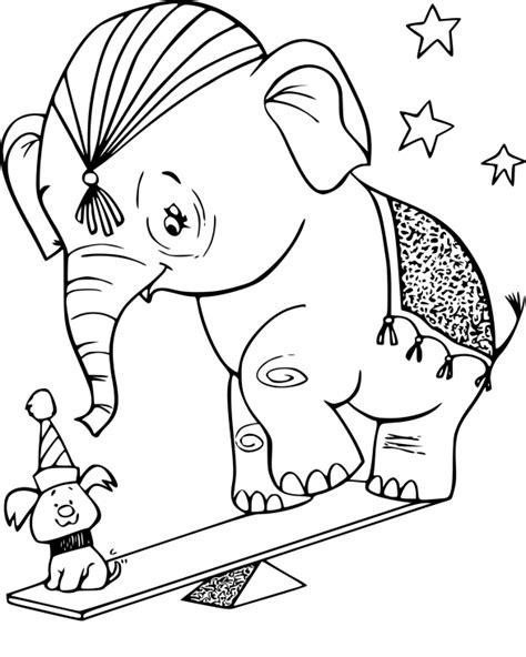 Coloriage Elephant Cirque Dessin 224 Imprimer Sur Coloriages Dessin A Colorier Fille Gratuit L