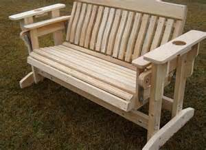 Ab And Back Bench Porch Gliders