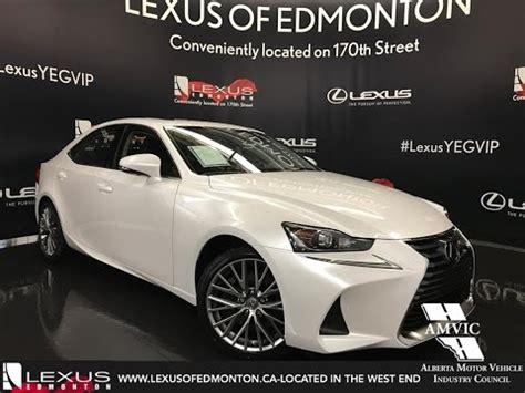 white lexus 2017 2017 white lexus is 300 awd premium walkaround review