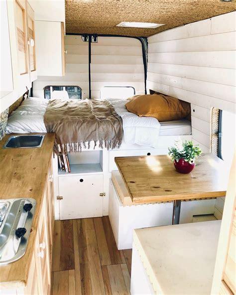 ford transit lh home  wheels campervan interior