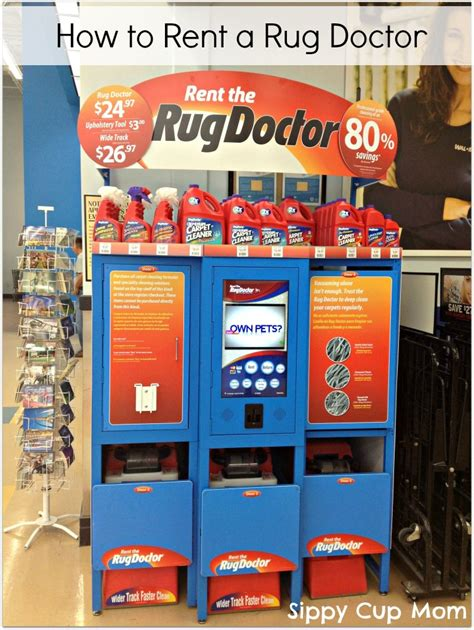 Rug Doctor Pricing by The Rug Doctor Rental Cost