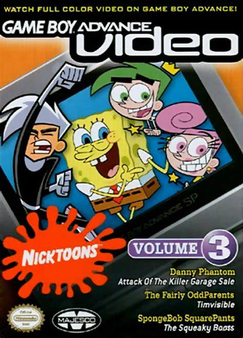 the half of us family collection volume 1 boy advance nicktoons collection volume 3