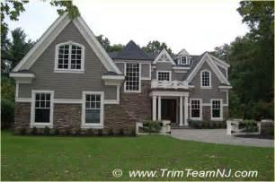 Exterior Decorative Trim For Homes - exterior trim traditional exterior by trim team nj