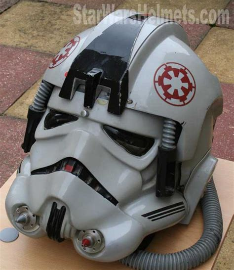 spray paint helmet original esb at at driver helmets