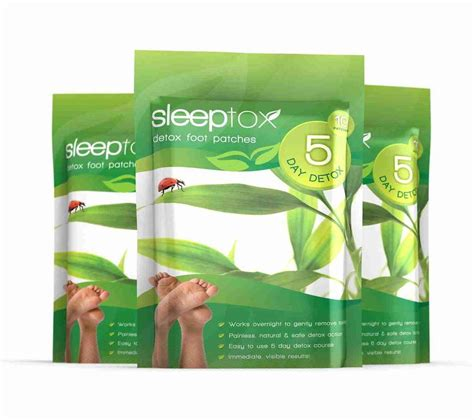 Sleeptox Detox Foot Patches Reviews by Sleeptox Detox Foot Patches Cleanse Purify At